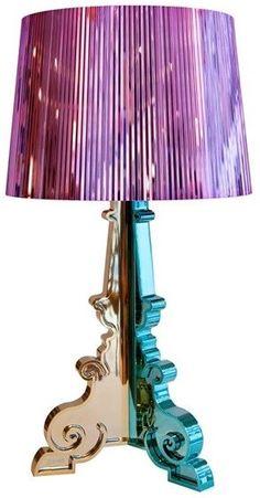 Kartell rainbow Bourgie lamp.