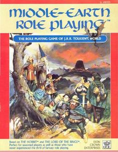 Product Line: Middle Earth Roleplaying  Product Edition: M1  Product Name: Middle-earth Role Playing (1986)  Product Type:   Author: S. Coleman Charlton  Stock #: 8000  ISBN: 0-915795-31-0  Publisher: ICE  Cover Price: $10.00  Page Count: 128  Format: Softcover  Release Date: 1986  Language: English