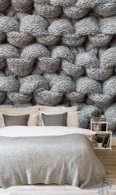 20+ идей как украсить дом вязаными вещами