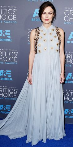 2015 Critics' Choice Movie Awards: Red Carpet Arrivals - Keira Knightley from #InStyle
