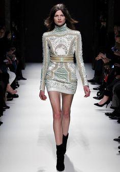 Balmain fashion week f/w 12/13