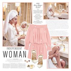 """""""Independent Woman"""" by bloggersxbrands ❤ liked on Polyvore featuring Tzumi, Norma Kamali and Valentino"""