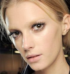 eyeshadow for bleached eyebrows - Google Search