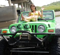 I know it probably isn't cool, but I really do adore jeeps. A cherry, wrangler was my greatest dream when I was 14