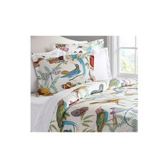 Pottery Barn Fauna Duvet, Full/Queen, Multi ($99) ❤ liked on Polyvore featuring home, bed & bath, bedding, duvet covers, multi, pottery barn bed linens, pottery barn shams, cotton duvet, pottery barn duvet and pottery barn pillow shams