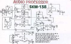 Audio Processor Circuit using IC TL074