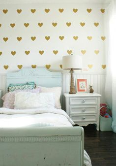 Heart Decal for kids room