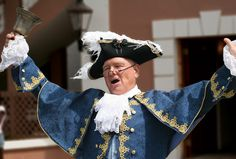 The Town Crier welco