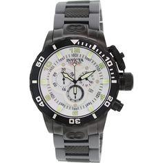 Invicta Men's Corduba 10508 Black Rubber Swiss Chronograph Watch