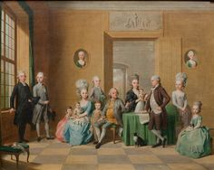 1779 The Souchay Family. By Johann Anton Tischbein - National Gallery of Denmark. Anton, Vintage Family Photos, Museum Of Fine Arts, Portrait Art, Art World, Family Portraits, 18th Century, Art Inspo, Photo Art