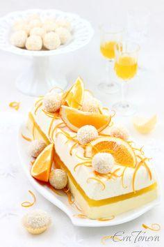 Oorange Terrine - That's a Wow! recipe if ever I've seen one!  Gorgeous!