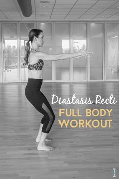 This diastasis recti full body workout is perfect for new or experienced moms suffering from DR or 'mommy pooch'. Safe moves to tone your entire body.