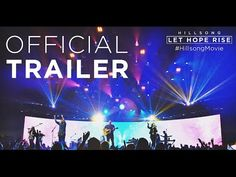 Hillsong Movie LET HOPE RISE Official Trailer Let Hope Rise chronicles the spectacular and miraculous rise of the Australia based band Hillsong UNITED to prominence. Trailer 2, New Trailers, Official Trailer, Movie Trailers, Hillsong United, Christian Films, Christian Music, Taya Smith, Movie Website