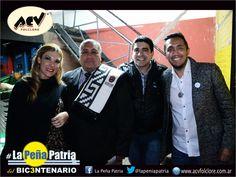 Junto a Belén Pereyra, Claudio Juarez y Gonzalo Soraire