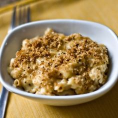 Macaroni & Four Cheeses, you'd never know this delicious classic has been lightened!