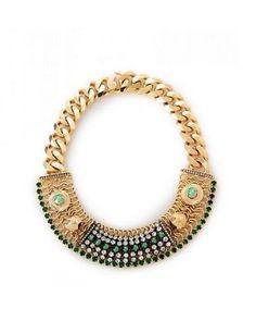Iosselliani Exotic Chain Crystal Chocker
