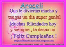 Imágenes de feliz cumpleaños con nombre de mujeres | Descargar imágenes gratis Event Ticket, Happy Birthday, Globes, Women