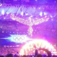 Closing ceremonies London 2012 Olympics