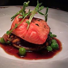 Wild king salmon sous vide by @chefmoca - #chefsroll #rollwithus