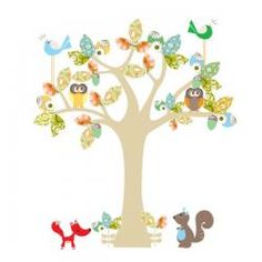 Beautiful Cocoon Couture Enchanted Tree Wall Sticker!