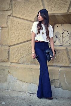 love the jeans, high waist bell bottom-like