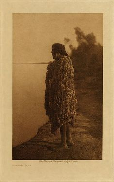 Library of Congress: Edward S Curtis Collection Mohave man