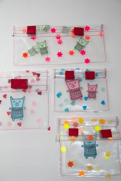 make your own reusable plastic bags