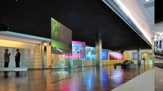 HP Reactive Glass Lobby Displays - designed by Potion by potiondesign, via Flickr