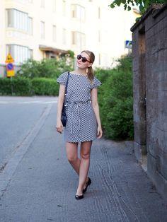 Raitarakkautta | Striped Disa Dress by Lille Clothing - Pupulandia | Lily.fi