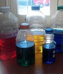March Curriculum - Cultural Diversity #kidsactivities #kids #family #parenting #teaching Making Color Water Bottles to learn #infants #babies #toddlers