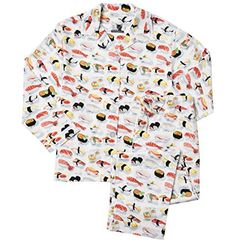 So if anybody wants to buy me these, I'd be super grateful. Buffy forever!! The Cat's Pajamas White Sushi Women's Cotton Pajama small...