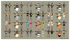 Some very cool art featuring The Beatles!