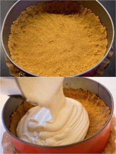Ibland kan cheesecake spricka lite up Easy Cake Recipes, Best Dessert Recipes, Candy Recipes, Mango Desserts, Fun Desserts, Baked Cheesecake Recipe, Zeina, Swedish Recipes, Cake Toppings