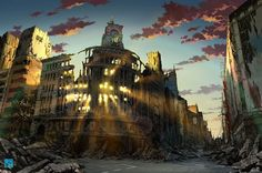 TokyoGenso, une entreprise spécialisée dans le domaine de l'illustration pour les jeux vidéo, a réalisé une série d'oeuvres représentant différents lieux du Japon après l'apocalypse. On se retrouve ainsi plongé dans des endroit...