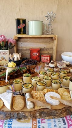 "Proudly South African ""Kuier"" Food Table                              …"