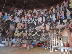 Onslow is a coastal town in the Pilbara region of Western Australia, kilometres north of Perth. Private Property, Young Family, Interior Walls, Western Australia, Caravan, Cartoon Characters, Walt Disney, Hand Drawn, Islands