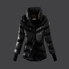 Cheap Moncler Down Coats Women 2013 Style Black MC308 UK
