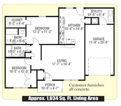 Floorplan THE HOLYFIELD   97TRU28603RH   Clayton Homes of Austin ...