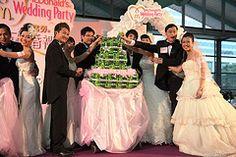McDonald's Hong Kong McWeddings    #mcdonalds #mcdonald's #mcweddings #weddings