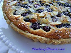 Blueberry Almond Tart: This is my new favorite dessert! The only change I made was to use about a tablespoon or so of fresh squeezed orange juice instead of orange extract, and I might even add a little extra orange zest next time. I am so obsessed with almond paste, I think I'm going to have to make every kind of frangipane tart recipe I can get my hands on now!
