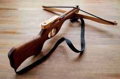 wood crossbow toy wood crossbow wood toy crossbow by totmedieval