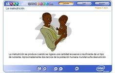 La malnutrición, en wikisaber.es Knowledge, Activities