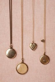 Collector's Lockets. {Anthropologie}