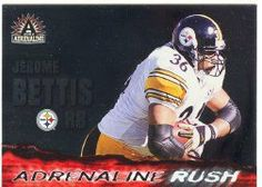 2002 Pacific Adrenaline Rush #14 Jerome Bettis by Pacific Adrenaline. $0.39. 2002 Pacific Trading Cards trading card in near mint/mint condition, authenticated by Seller
