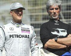 Michael Schumacher e Damon Hill Michael Schumacher, Formula One Champions, Formula 1 Gp, Damon Hill, Williams F1, F1 Drivers, F1 Racing, F 1, Benetton