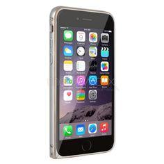 iPhone 6 Plus Metal Bumper Çerçeve Kılıf / Zamgo - Gümüş Renk