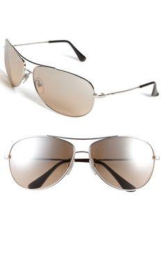 11fab1e3e6c Ray-Ban  Bubble Wrap Aviator  63mm Sunglasses in Champagne