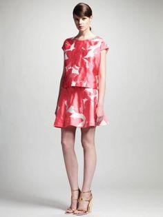 Chloe(クロエ)/Floral Jacquard Blouse  Skirt