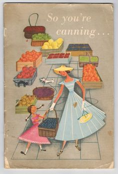 1950's Canning Recipe Booklet