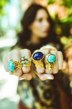 I just l o v e these rings!!!!! <3